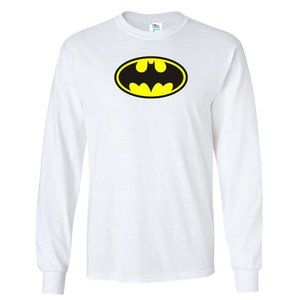 Men's DC Comics Batman Logo Long Sleeve